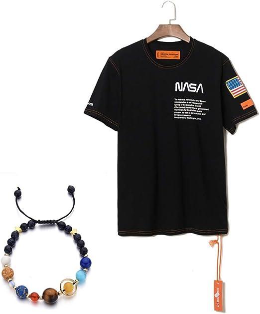 W&TT Camiseta para Hombre Heron Preston NASA Space Program ...
