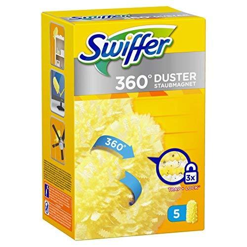 Swiffer - Recharges pour Plumeau Attrape-Poussiè re Duster 360 - 5 Plumeaux 81629505