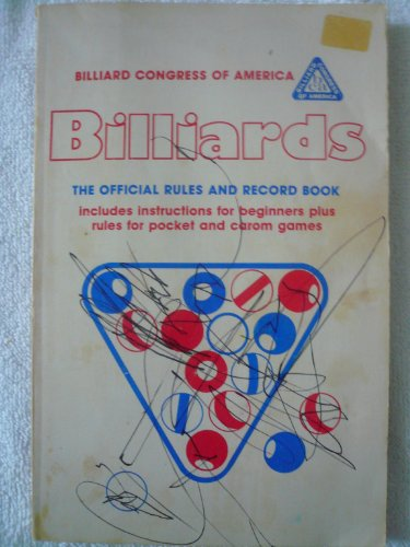 Billiards(The Official Rules and Record Book, 1986)