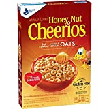 Honey Nut Cheerios 10.8 Oz, Gluten Free, Breakfast Cereal (pack of 2)