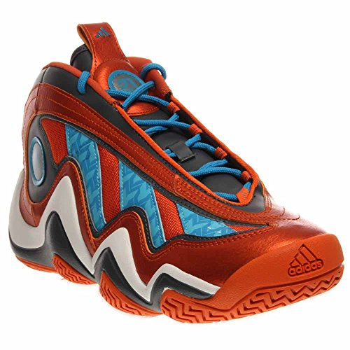 Adidas Galen 97 Basket Sko Mens Stil Orange / Sol Blå / Mörk Onix