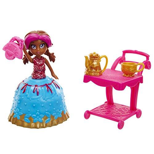 Cuppatinis Cha Cha Chai Doll with Tea Cart