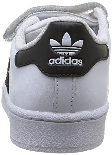 ... Enfant Basses Baskets White Footwear Foundation Blanc Core 12 Footwear Mixte Superstar White Black adidas 5 ...