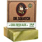 Cool Fresh Aloe Soap for Men - Naturally Refreshing Aloe Vera Soap for Men with Organic Oils - Bar Handmade in USA by Dr…