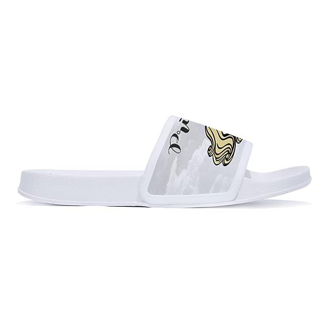 47f910e8e8697 Amazon.com: CoolBao Stylish Beach Sandals unicorn for Men Anti-Slip ...
