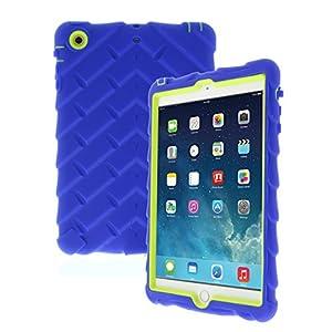 Apple iPad mini iPad mini Retina iPad mini 3 Drop Tech Blue Gumdrop Cases Silicone Rugged Shock Absorbing Protective Dual Layer Cover Case