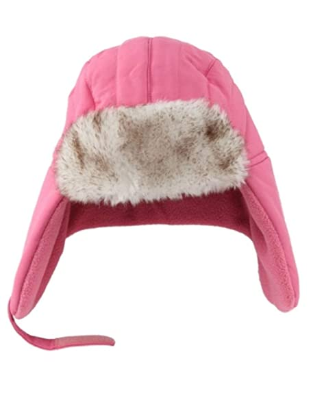 Image Unavailable. Image not available for. Color  ABC Toddler Girls Light  Pink Trapper Hat with Faux ... b5d2fc23c