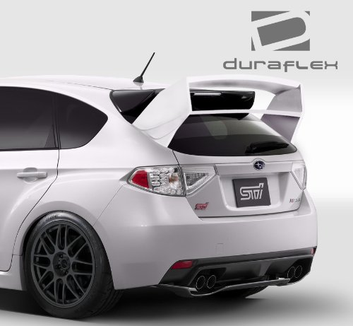 Duraflex ED-WIE-439 WRC Look Rear Wing Trunk Lid Spoiler - 1 Piece Body Kit - Fits Subaru Impreza 2008-2014