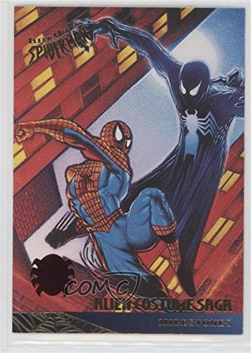 Alien Costume Saga #12/30 (Trading Card) 2017 Fleer Ultra Spider-Man - 1995 Buybacks #87