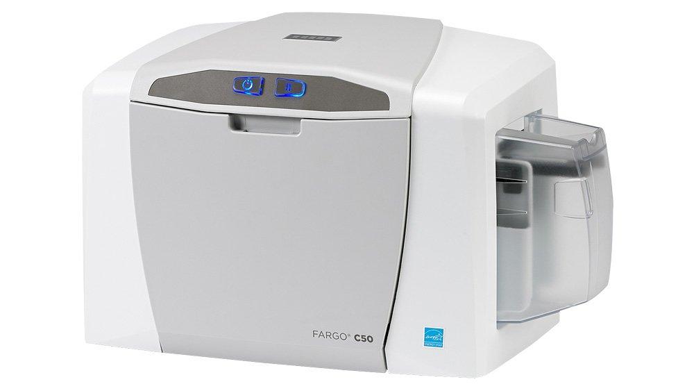 Amazon.com: Fargo C50 Complete Photo ID Card Printer System ...