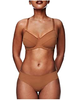 fb3583c4ca9 Nubian Skin Womens Naked Moulded Bra at Amazon Women s Clothing store