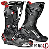 SIDI MAG-1 MOTORCYCLE BOOTS (BLACK, SIZE 10 / 44)