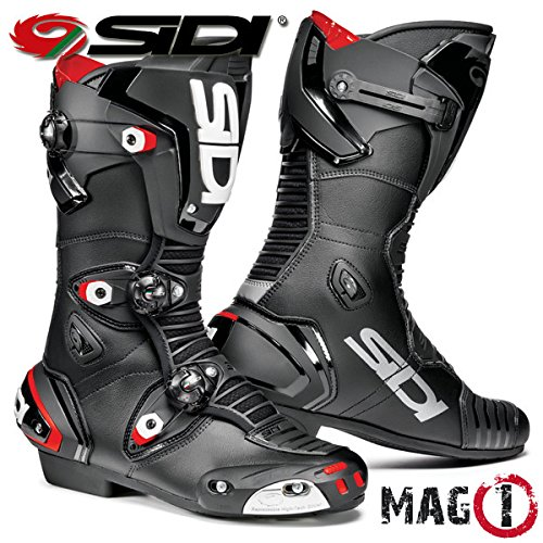 SIDI MAG-1 MOTORCYCLE BOOTS (BLACK, SIZE 11 / - Vortice Motorcycle Sidi
