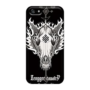 Scratch Resistant Hard Cell-phone Case For Iphone 5/5s With Custom High Resolution Apocalyptica Band Skin AaronBlanchette