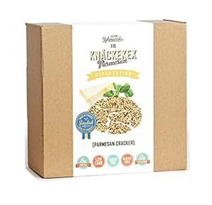 KZ Clean Eating - Parmesan Cracker - 200g (7oz) - Low Carb Gluten Free Sugar Free Non GMO Swedish