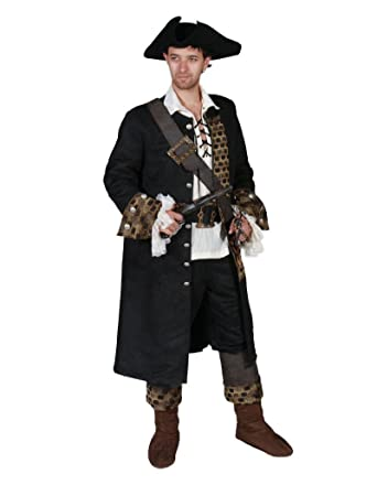 Amazon com: Men's Deluxe Pirate Theater Costume: Clothing