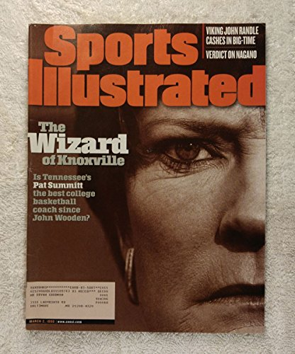 (Pat Summitt - Tennessee Lady Volunteers - The Wizard of Knoxville - Sports Illustrated - March 2, 1998 - Lady Vols, College Basketball - SI)