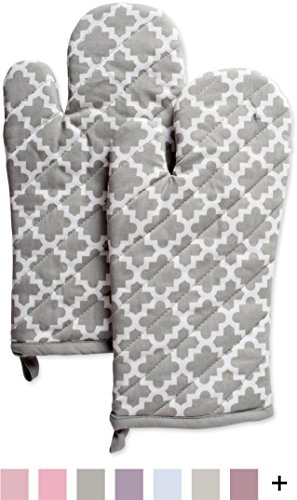 DII Washable Resistant Everyday Cooking Gray