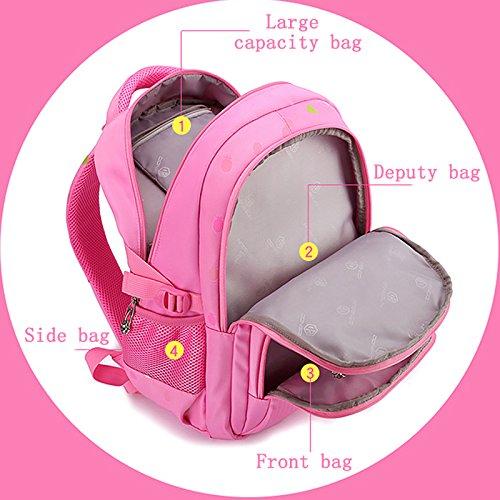 11eb3d243e2e Kalakk Beautiful Pineapple Printing Waterproof For Girls School Bag For  Teenager Bags For Girl Big Capacity