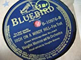 The Last Time I Saw Paris / High On A Windy Hill [78rpm Single]