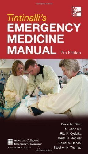Tintinalli's Emergency Medicine Manual 7/E (Emergency Medicine (Tintinalli)) by Cline, David Published by McGraw-Hill Professional 7th (seventh) edition (2012) Paperback