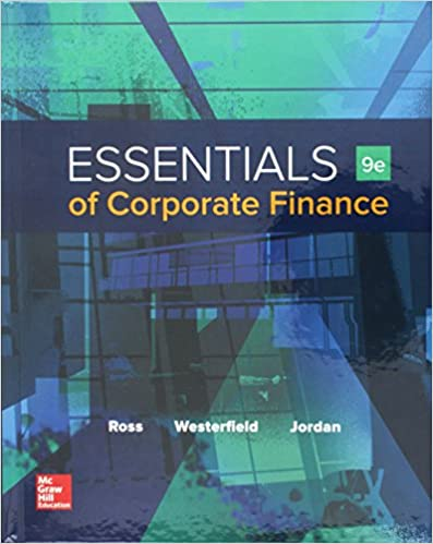Essentials of corporate finance with connect 9781259697456 essentials of corporate finance with connect 9th edition fandeluxe Gallery
