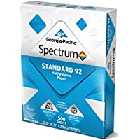 Georgia Pacific 991322R Spectrum Standard 92 Multipurpose 8.5 x 11 500 sheets