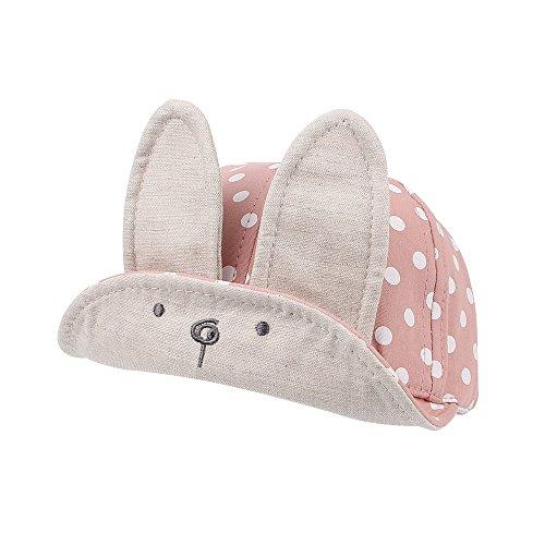 Cutegogo Baby Baseball Cap Infant Toddler Boys Girls Adjustable skull Hat Lovely Spring Fall(Light pink,1-3Y)