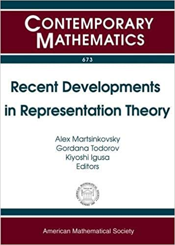 Book Recent Developments in Representation Theory: Maurice Auslander Distinguished Lectures and International Conference, May 1-6, 2014, Woods Hole ... Woods Hole, Ma (Contemporary Mathematics)