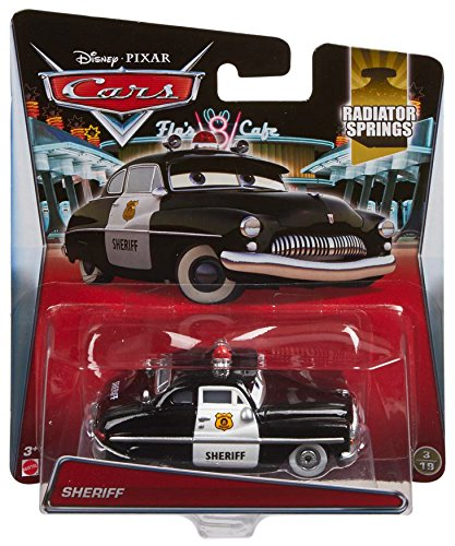 Disney Pixar Cars Diecast Sheriff Amazon Co Uk Toys Games