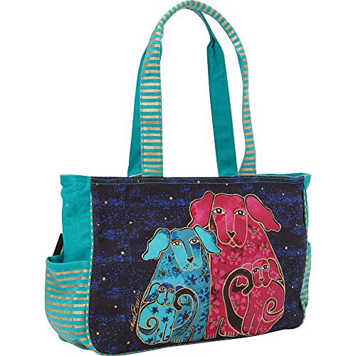 Burch Blue Pups Blossoming Laurel Mini Tote ZRaTq