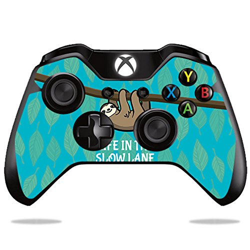 Price comparison product image Skin For Microsoft Xbox One/ One S Controller – Slow Sloth | MightySkins Protective, Durable, and Unique Vinyl Decal wrap cover | Easy To Apply, Remove, and Change Styles | Made in the USA