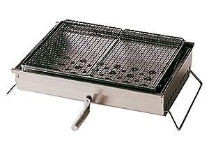 Snow Peak Iron Grill Table BBQ Box, Large