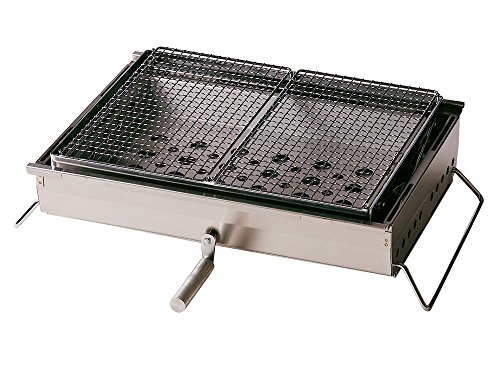 Snow Peak Iron Grill Table BBQ Box, Large