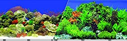Blue Ribbon Pet Products ABLVSB1524 Decorative Reef Background for Aquarium, 24-Inch 50-Feet