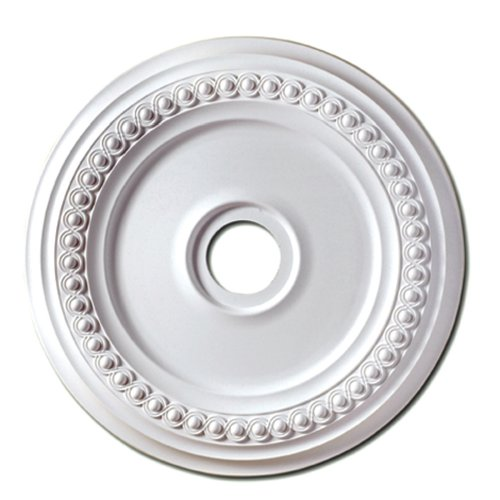 Focal Point Rondel Medallion in Primed White (18-Inch)