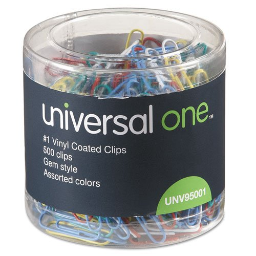 universal-95001-1-size-500-vinyl-coated-wire-paper-clips