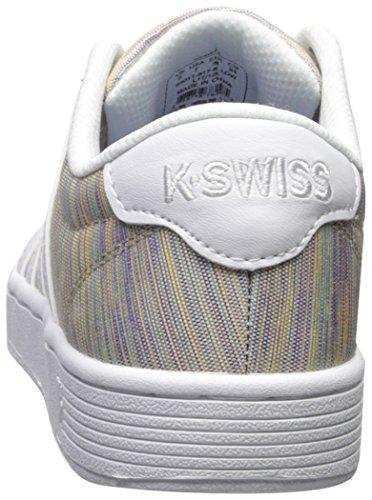K-Swiss Womens Court Pro II T CMF Sneaker Rainbow/White iZdvGI