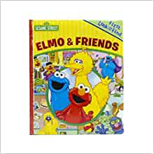 Elmo & Friends (My First Look and Find): Ltd. Editors of ... - photo#19