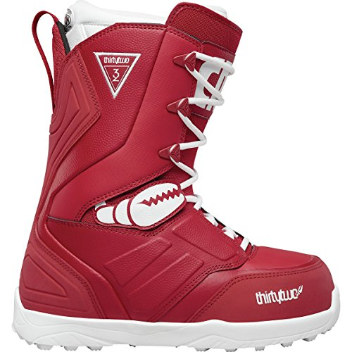 Thirty Two Lashed Crab Grab Snowboard Boot 2018 - Men's Red 8.5 (Mens Lashed Thirty Two)