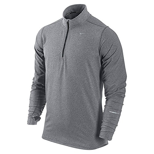 NIKE Men's Dry Element Running Top Grey