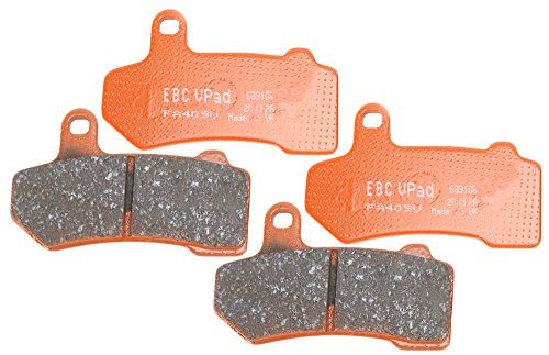 Front Semi-Sintered V-Pads Brake Pad Change Kit (Factory Front Brake Pad Pads)