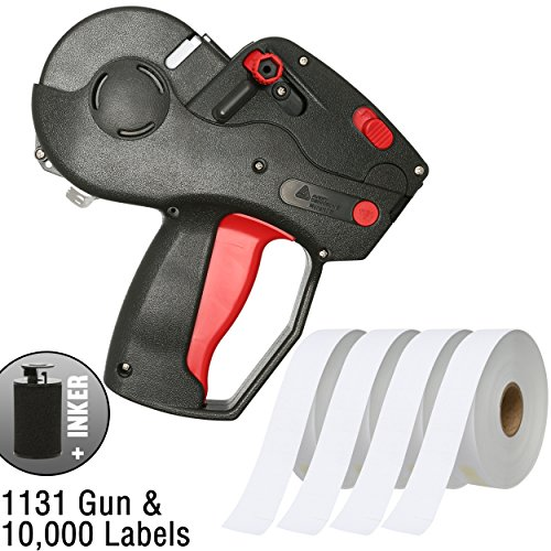 Monarch 1131 Pricing Gun With Labels Starter Kit: Includes Price Gun, 10,000 White Pricing Labels and Inker