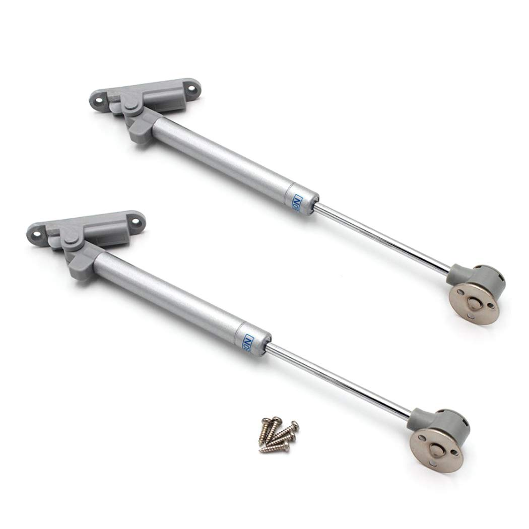2 Pcs Soft Down Lift Support Cabinet Door Safety Pneumatic Gas Struts Lift Support 150 lbs