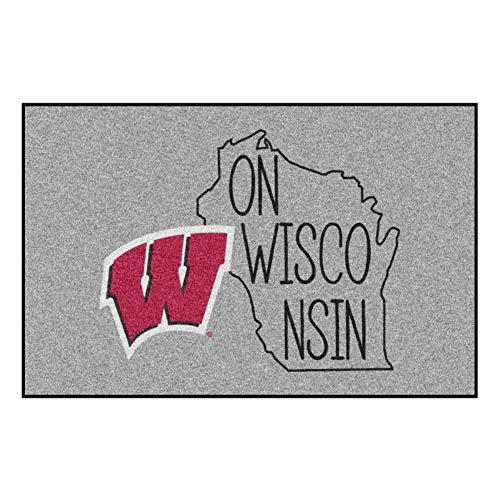 Fanmats NCAA Wisconsin Badgers Starter Mat, 19