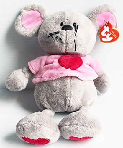 TY Classic Pitter the Mouse Bean Bag 11inch Plush Doll from Ty