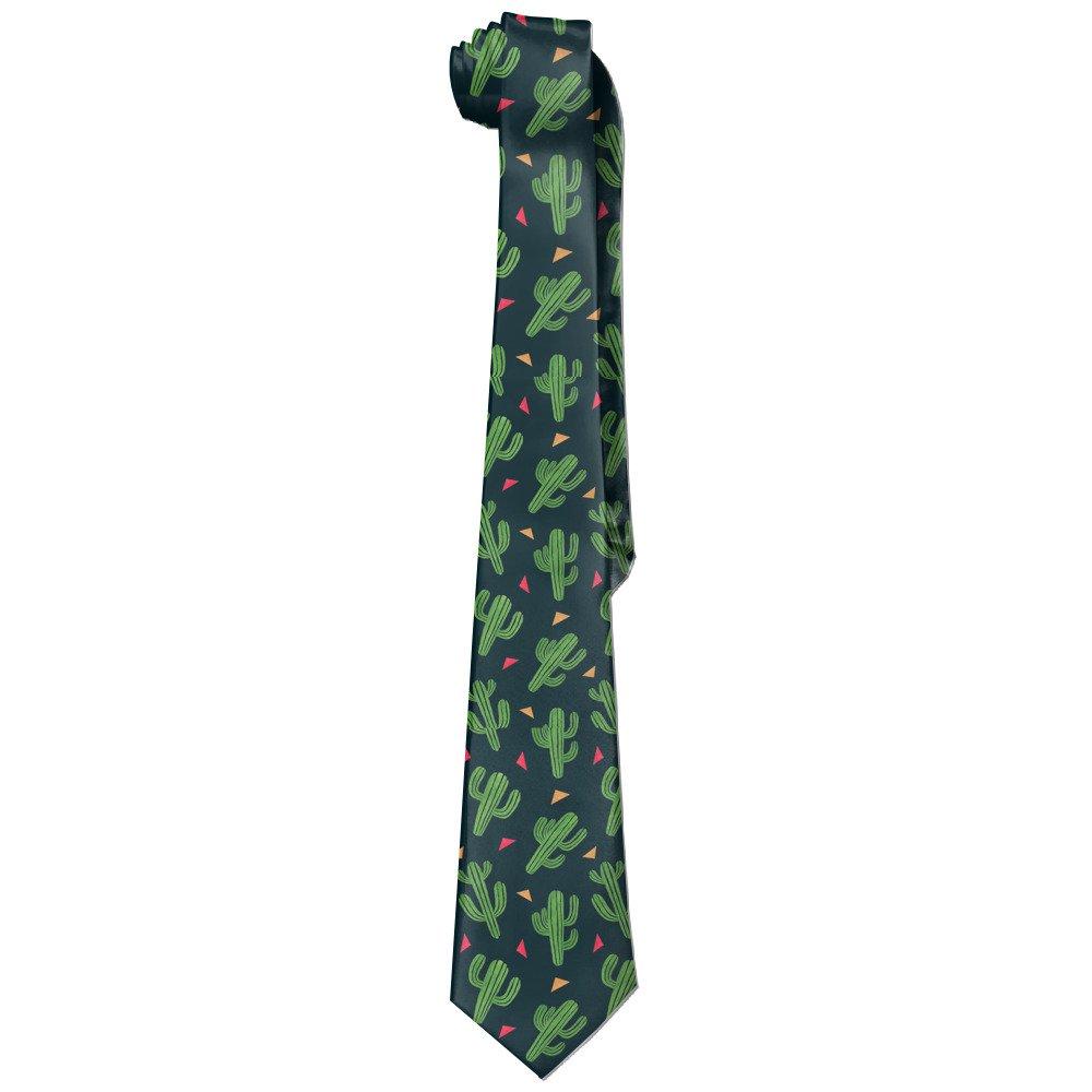 SHENSHI Men's Cactus Novelty Necktie Tie