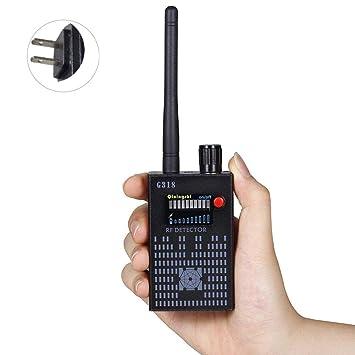 Anti Spy RF Detector Wireless Bug Detector Signal for Hidden Camera Laser Lens GSM Listening Device
