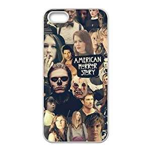 Personalized Cover Case with Hard Shell Protection for Iphone 5,5S case with American Horror Story lxa#914567 by ruishername