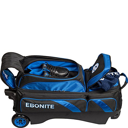 Ebonite Equinox Triple Roller Bowling Bag schwarz/lime 0RNOsM4ysR